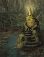 Frog Prince by CavalierediSpade