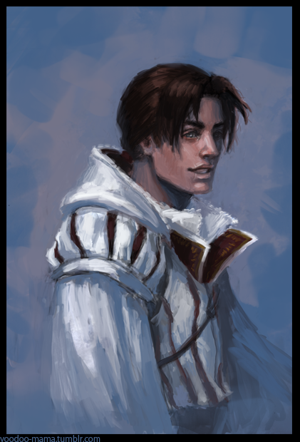 Ezio -portrait- by CavalierediSpade