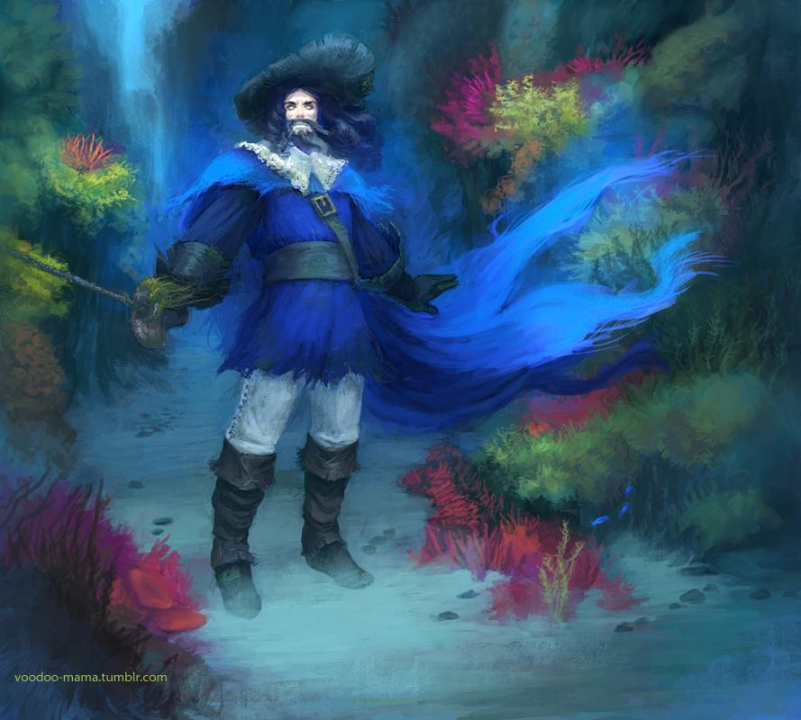 Undead Pirate by CavalierediSpade