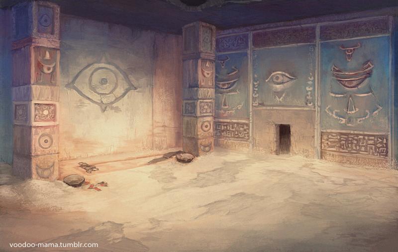 Eye Temple by CavalierediSpade