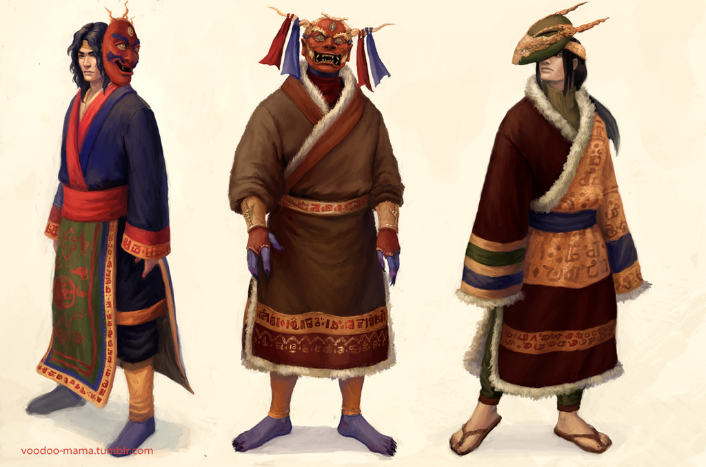 Characters by CavalierediSpade