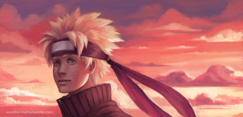 Naruto by CavalierediSpade
