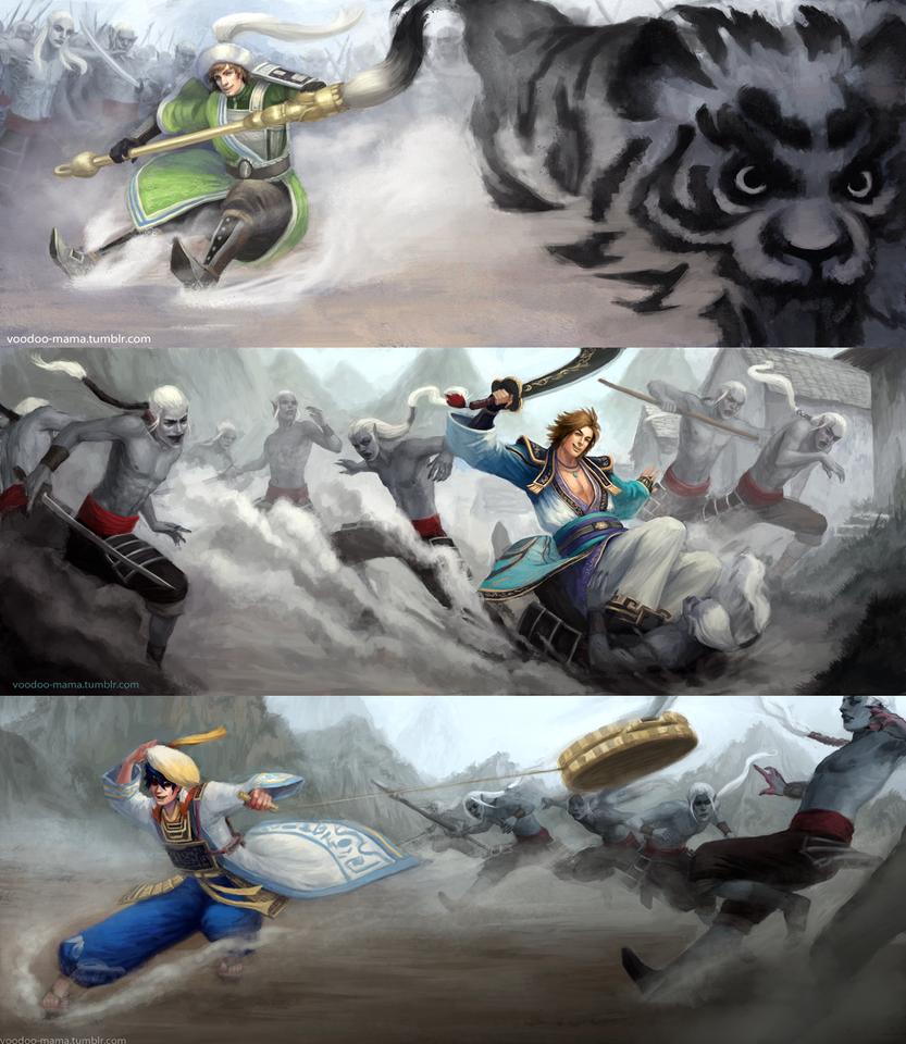 Warriors Orochi Team Battle by CavalierediSpade
