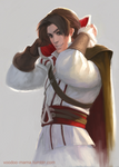 Cartoon Ezio