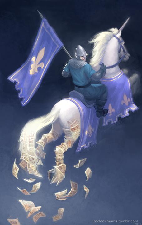 Knight by CavalierediSpade