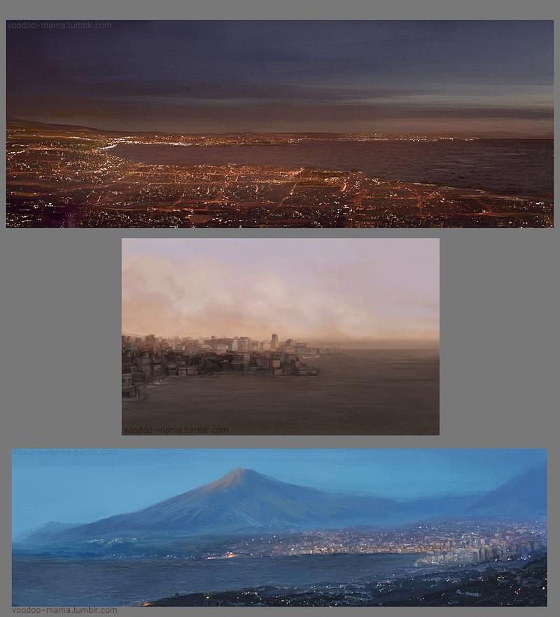 Cities by CavalierediSpade