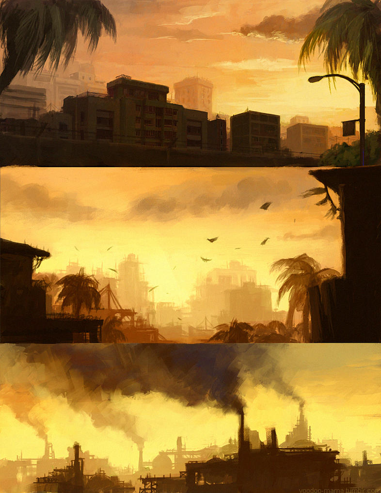 Skylines by CavalierediSpade