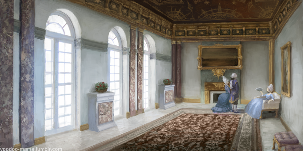 Interior by CavalierediSpade