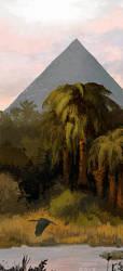 Egypt Morning by CavalierediSpade