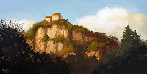 Mountain by CavalierediSpade