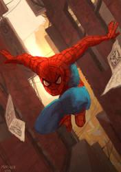 Spider-man by CavalierediSpade