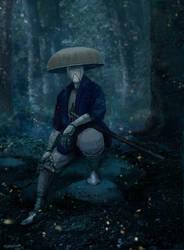 Samurai Android by CavalierediSpade