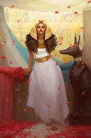 Cleopatra by CavalierediSpade