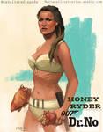 Bond Girl: Honey Ryder by CavalierediSpade