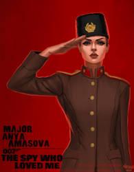 Bond Girl: Anya Amasova