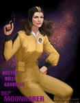 Bond Girl: Holly Goodhead by CavalierediSpade