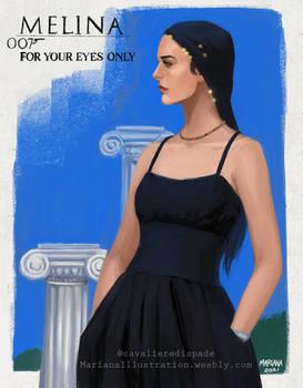 Bond Girl: Melina