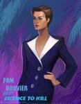Bond Girl: Pam Bouvier by CavalierediSpade