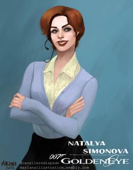 Bond Girl: Natalya Simonova
