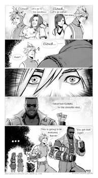 FF7 comic