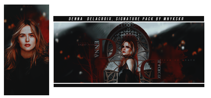 Denna Delacroix | Signature Pacl by mnykskr