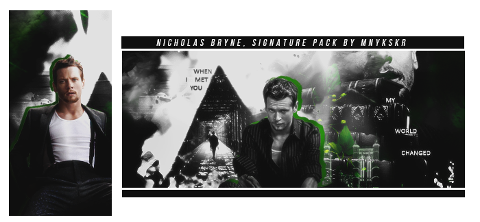 Nicholas Bryne | Signature Pack by mnykskr