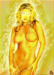 Golden Goddess by Mithras-Imagicron