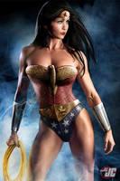 Wonder Woman-Lynda Carter Jeff Chapman Edit #1A by Mithras-Imagicron