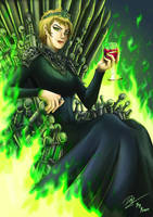 Cersei, Queen of the Seven Kingdoms by Kraus-Illustration