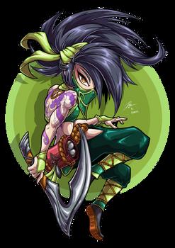 Akali, The Rogue Assassin