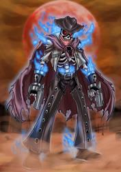 Undead Gagaga Cowboy by Kraus-Illustration