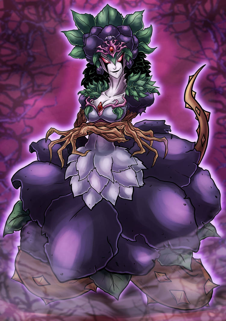 Tytanial, Princess of Black Thorns by Kraus-Illustration