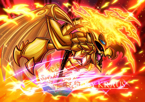 The Winged Toon of Ra