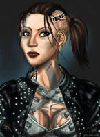 ME3 Jack Fan art by Peipei22