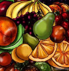 Fruit Parade by Peipei22