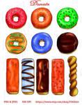 Delicious Donuts Clip Art