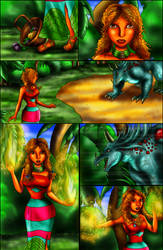 Cosmos Song - Page 9 - The Earthen Sorceress