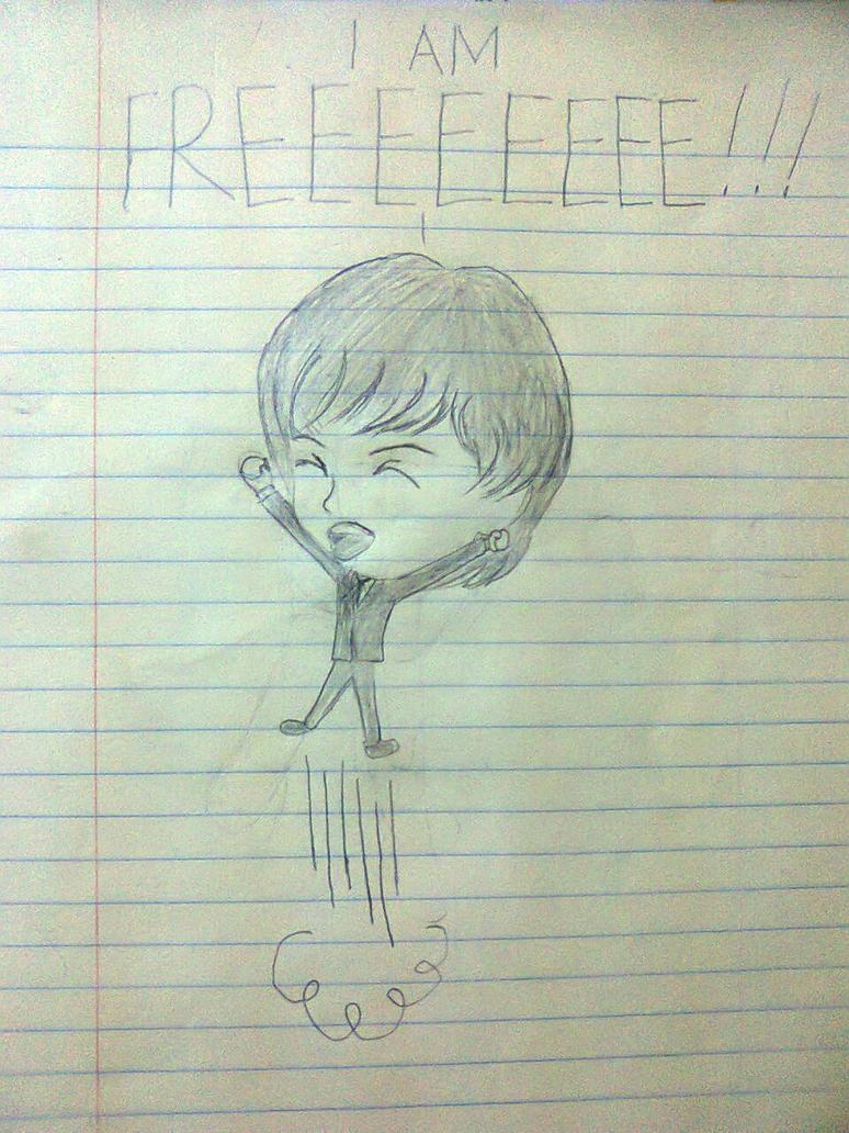 The Beatles: I am freeeeeeeeeeeeeeeeeeeeeeeeeee!!! by lame-chan