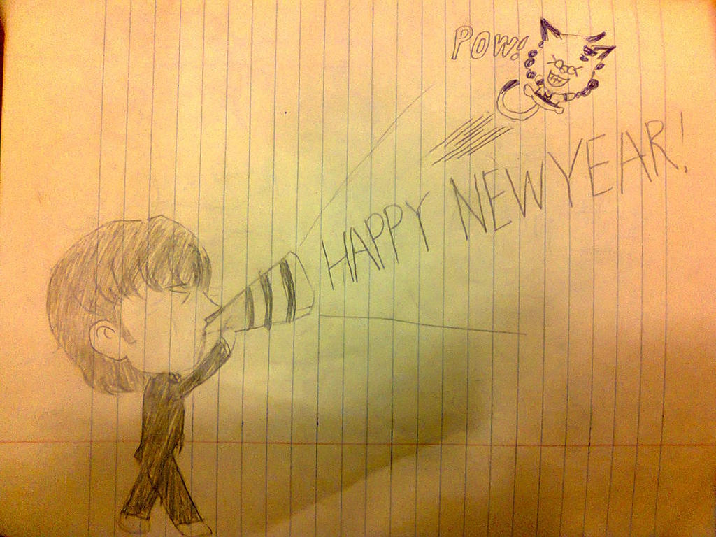 Happy New Year  Ringo Starr and Mika by lame-chan