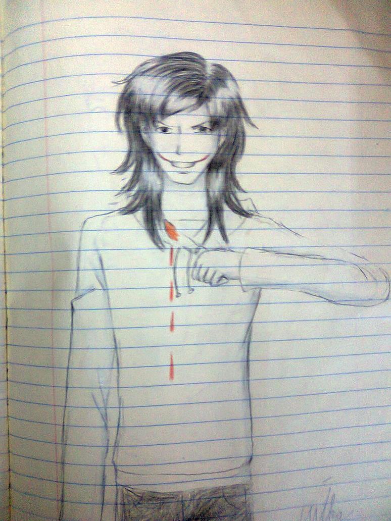 Jeff the killer by MikaTheBlueKitty