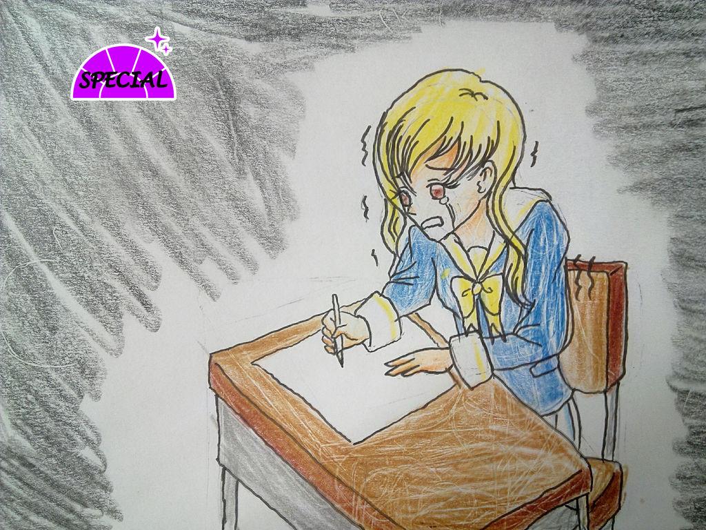 SRA-Bee's math exam by MikaTheBlueKitty on DeviantArt