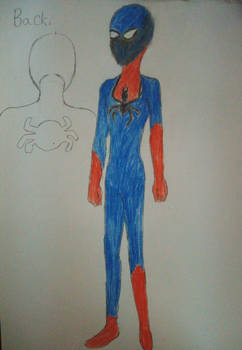 The infinity spiderman-Outfits new design part 2
