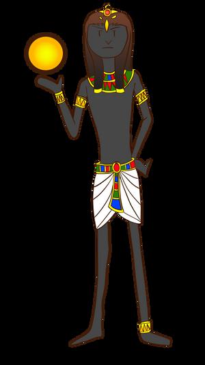 Ra, God Of Sun (dump figure version)