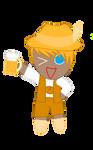 Cookie run kingdom oc: Beer cookie