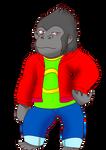 SA oc: Connor the Gorilla
