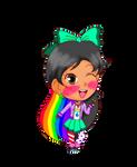 Commission: Alyssa Rainbowpopz