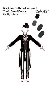 SRA:[CS]Black And White Hatter coord