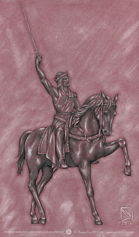 King Richard The Lionheart Statue