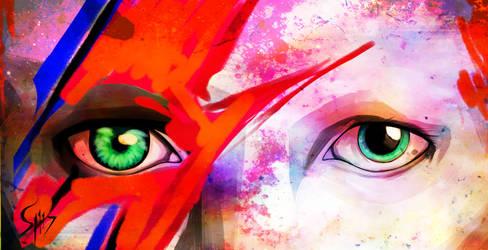 Ziggy Stardust. Reinterpretation. by Ravel-117