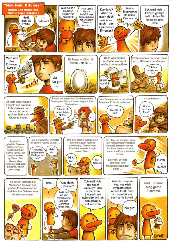 Entoman: Die Biographie by Yeocalypso